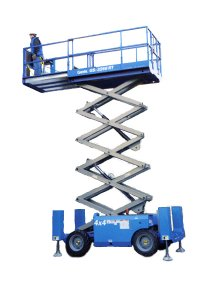 Genie 32' Rough Terrain Scissorlift