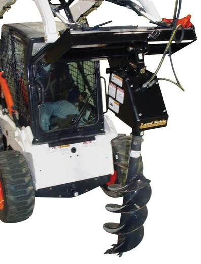 Skid Steer Post Hole Digger